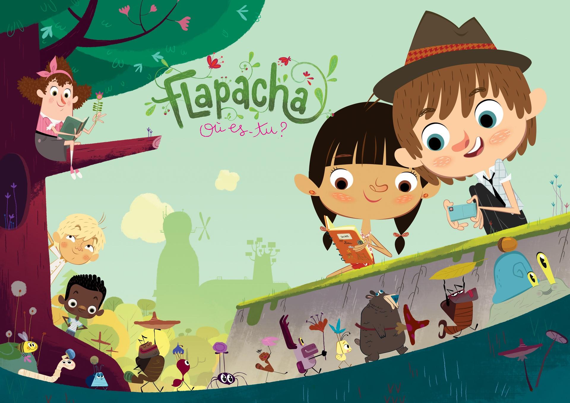 Coloriage Paprika Dessin Anime.Flapacha Ou Es Tu Xilam Animation